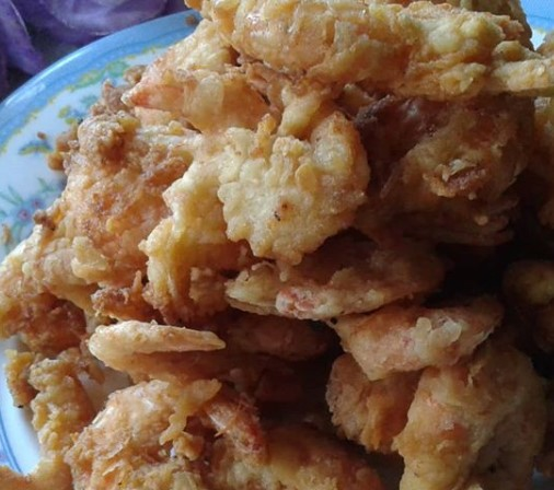 Udang goreng krispy